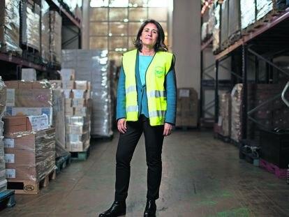 Gema Escrivá, directora del Banco de Alimentos de Madrid. Madrid 10/11/2020