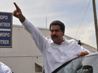 Maduro, este martes en Puerto Príncipe (Haití).