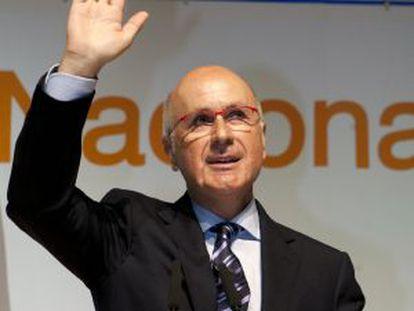 El líder de Unió, Josep Antoni Duran Lleida.