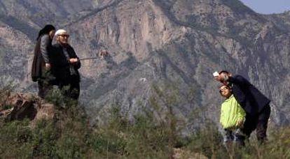 Las montañas de Qinghai (China) albergan una vida tranquila para los musulmanes que viven ahí.