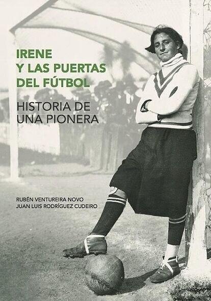 Portada del libro Irene y las puertas del fútbol.