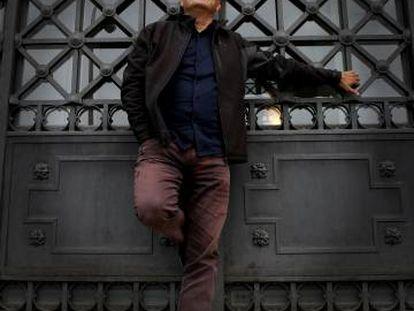 El filósofo Juan Arnau, en el centro de Madrid.