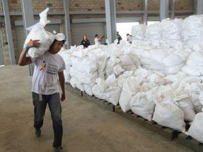 Los representantes de Juan Guaidó afinan detalles de la ayuda humanitaria, con Cúcuta como centro de operaciones