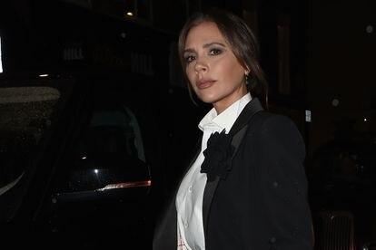 Victoria Beckham, en Londres, el pasado noviembre.