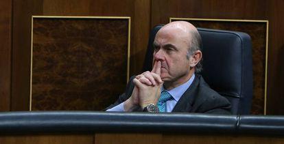 Luis de Guindos, candidato a la vicepresidencia del Banco Central Europeo.
