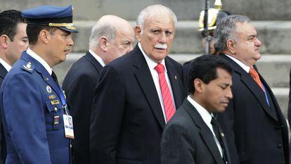José Vicente Rangel en agosto de 2006, cuando era vicepresidente de Venezuela.