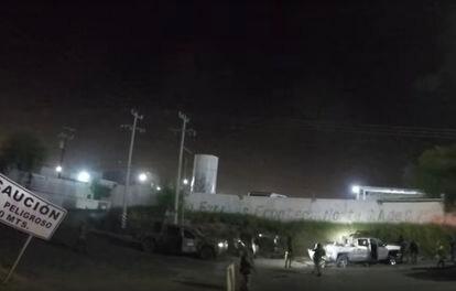 Fotograma del vídeo de la ejecución en Nuevo Laredo, México.