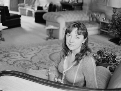 Vivien Merchant, en Reino Unido en julio de 1975  (Photo by McCarthy/Daily Express/Hulton Archive/Getty Images)