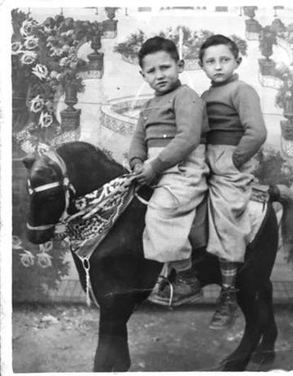 Alfons Cervera y su hermano Claudio.