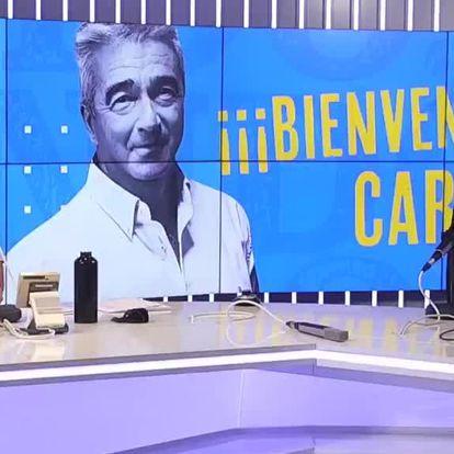Carles Francino, este lunes en su regreso a la radio tras superar el covid.