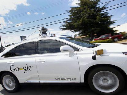 Uno de los coches sin conductor de Google. Tony Avelar AP