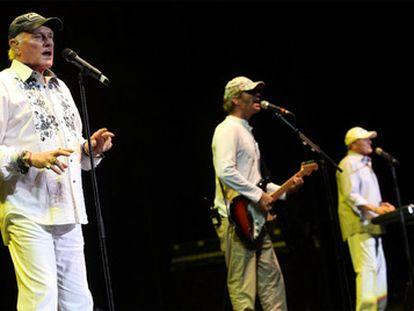 Los Beach Boys, en una actuación en el festival de Cap Roig.