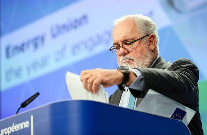 Miguel Arias Cañete, comisario europeo para la Energía y el Cambio Climático