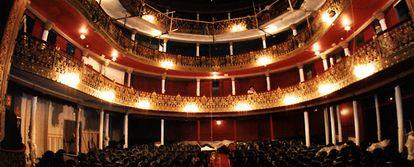 Patio de butacas del teatro Lara.