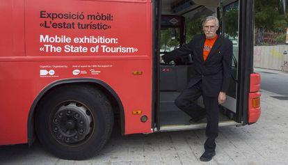 Michael Webb, fundador de Archigram en Barcelona.