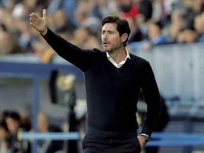 El entrenador del Málaga, Víctor Sánchez del Amo.