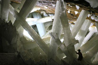Cueva de los Cristales en la mina mexicana de Naica.