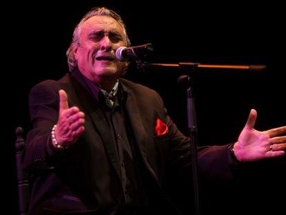 José el de la Tomasa, en el festival Suma Flamenca de Madrid, el viernes.