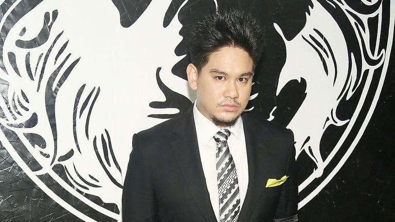 El príncipe Azim de Brunéi.