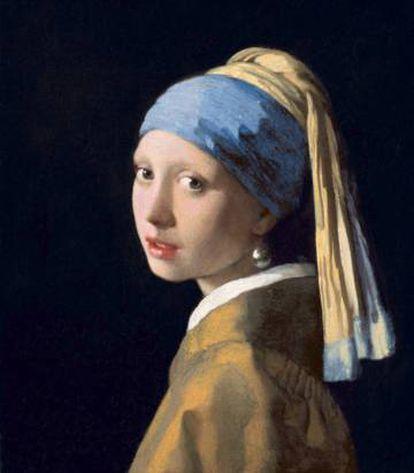 'La joven de la perla'.