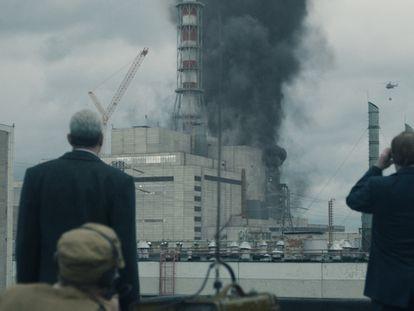 Una imagen de la serie 'Chernobyl'.