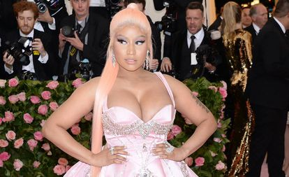 Nicki Minaj, en la gala del Museo Metropolitano de Nueva York (EE UU), en mayo.