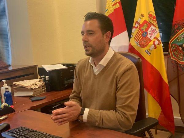 El alcalde de Burgos, Daniel de la Rosa (PSOE).