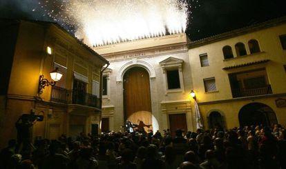 Inauguración del teatro El Musical de Valencia en septiembre de 2004.