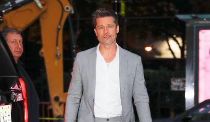 Brad Pitt en Nueva York en agosto de 2017.