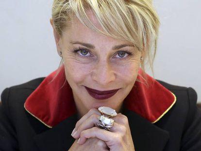 La actriz Belén Rueda, en Madrid.