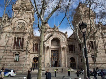 Sede del TSJC en Barcelona.