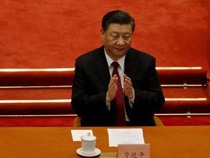 Xi El presidente chino, Xi Jinping, en la Asamblea Nacional Popular, el pasado 11 de marzo.
