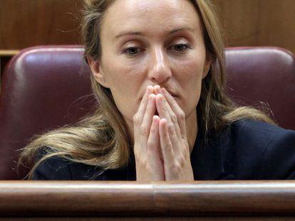 La diputada Andrea Fabra, en el Congreso de los Diputados