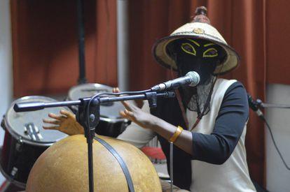 La cantante burkinesa Kalam Kunde.