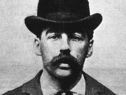 Herman Webster Mudgett, más conocido como H. H. Holmes.
