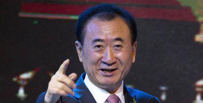 El presidente del grupo Wanda, Wang Jianlin.