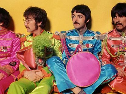 Los Beatles, en 1967.