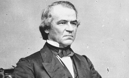 Andrew Johnson, ocupó el cargo de presidente entre 1865 y 1869.