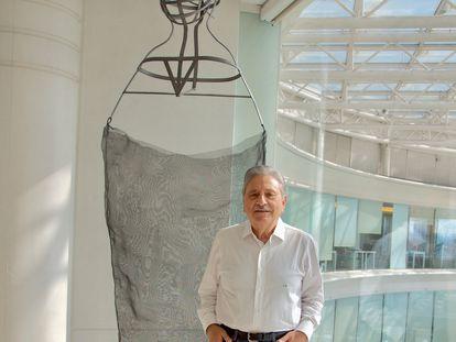 El coleccionista Armando Martins en Lisboa.