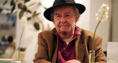 Carlos Edmundo de Ory, en noviembre de 2007.