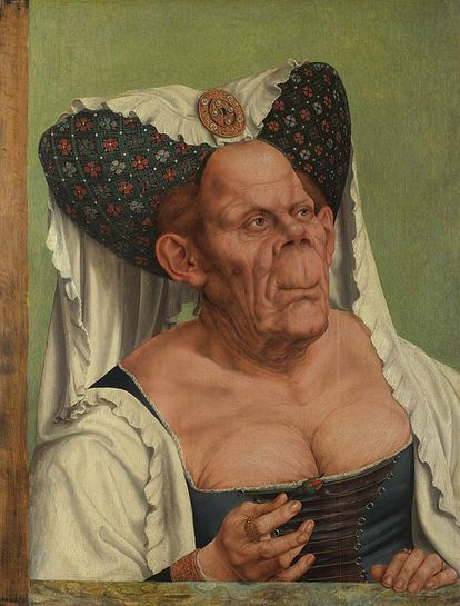 Cuadro de Quentin Massys conocido como 'La duquesa fea'.