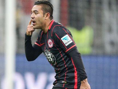 Marco Fabián asegura no tener ningún problema en el Eintracht Frankfurt.