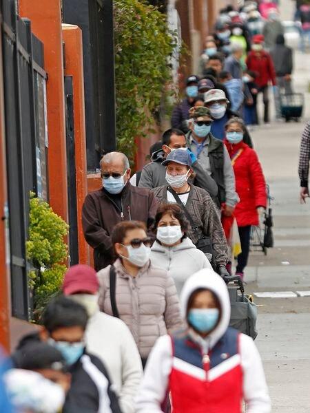 Panorámica de una calle de San Francisco.