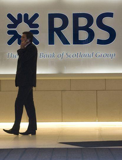 Oficina del Royal Bank en Londres.