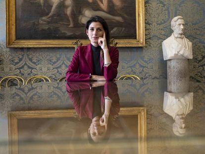 Virginia Raggi, este jueves en Roma.