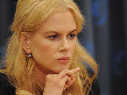 La actriz Nicole Kidman, en una rueda de prensa en Nueva York.