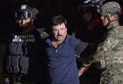 Joaquín El Chapo Guzmán, el pasado 8 de enero.