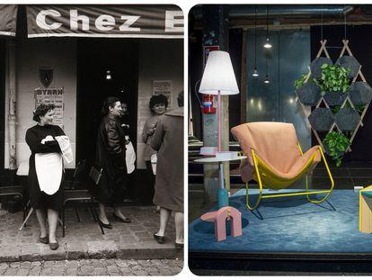 Una foto de la exposición de Paco Gómez y diseños expuestos en una edición pasada de Producto Fresco
