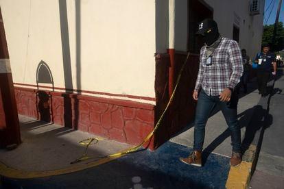 La polícia estatal toma el control de Ixtlahuacán, tras el asesinato de Giovanni López.