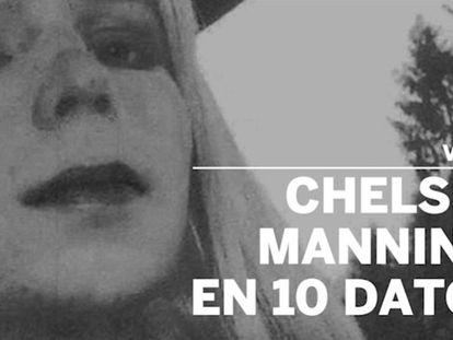 Chelsea Manning con una peluca en una fotografía sin fecha y tomada antes de ser encarcelada. En vídeo, Manning en 10 datos.